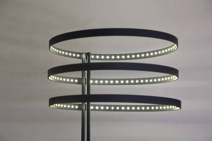 Lampdaire HaloLed LED